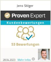 Erfahrungen & Bewertungen zu Jens Stilger