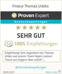 Erfahrungen & Bewertungen zu Friseur Thomas Urbiks