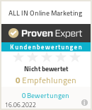 Erfahrungen & Bewertungen zu ALL IN Online Marketing