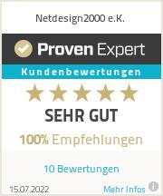 Erfahrungen & Bewertungen zu Netdesign2000 e.K.