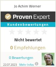 Erfahrungen & Bewertungen zu Jo Achim Werner