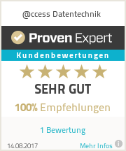 Erfahrungen & Bewertungen zu @ccess Datentechnik
