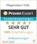 Erfahrungen & Bewertungen zu Pflegehelden® OWL