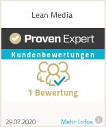 Erfahrungen & Bewertungen zu Lean Media