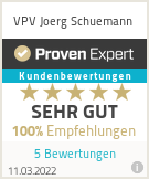 Erfahrungen & Bewertungen zu VPV Joerg Schuemann