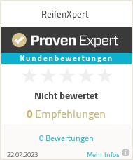Erfahrungen & Bewertungen zu ReifenXpert