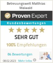 Erfahrungen & Bewertungen zu Matthias Maiwald