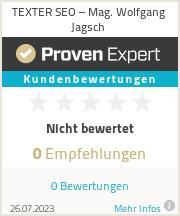 Erfahrungen & Bewertungen zu Texter-SEO Linz