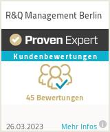 Erfahrungen & Bewertungen zu R&Q Management Berlin