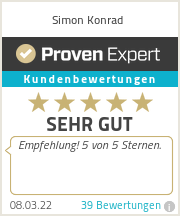 Erfahrungen & Bewertungen zu Simon Konrad