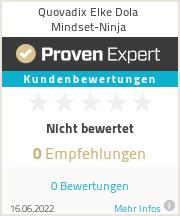 Erfahrungen & Bewertungen zu Quovadix Elke Dola Mindset-Ninja