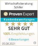 Erfahrungen & Bewertungen zu Wirtschaftsberatung Schiller