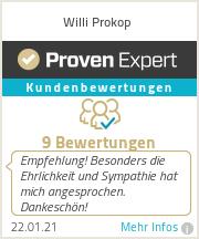 Erfahrungen & Bewertungen zu Willi Prokop
