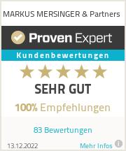 Erfahrungen & Bewertungen zu Mersinger - Beratung & Coaching