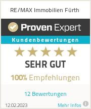 Erfahrungen & Bewertungen zu RE/MAX Fürth