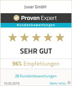 Erfahrungen & Bewertungen zu Juvar GmbH