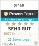 Erfahrungen & Bewertungen zu DJ A&B