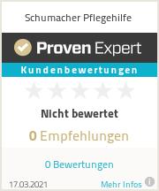 Erfahrungen & Bewertungen zu Schumacher Pflegehilfe