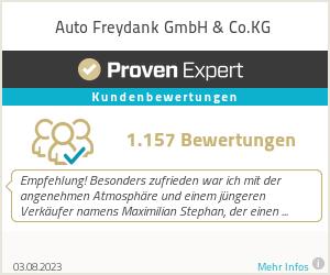 Erfahrungen & Bewertungen zu Auto Freydank GmbH & Co.KG