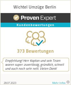 Erfahrungen & Bewertungen zu Wichtel Umzüge Berlin