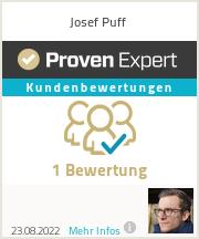 Erfahrungen & Bewertungen zu Josef Puff