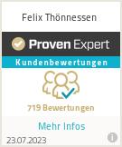 Erfahrungen & Bewertungen zu Felix Thönnessen