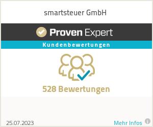 Erfahrungen & Bewertungen zu smartsteuer GmbH