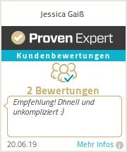 Erfahrungen & Bewertungen zu Jessica Gaiß