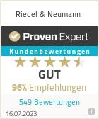 Erfahrungen & Bewertungen zu Riedel & Neumann