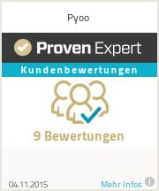 Erfahrungen & Bewertungen zu Pyoo