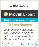 Erfahrungen & Bewertungen zu WEBWIZZARD