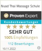 Erfahrungen & Bewertungen zu Nuad Thai Massage Schule