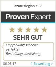 Erfahrungen & Bewertungen zu Lazaruslegion e. V.