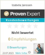Erfahrungen & Bewertungen zu Izabela Janssen