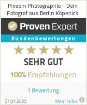Erfahrungen & Bewertungen zu Pixoom Photographie - Dein Fotograf aus Berlin Köpenick