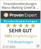 Erfahrungen & Bewertungen zu Finanzdienstleistungen Marco Mahling