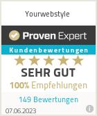 Erfahrungen & Bewertungen zu Yourwebstyle