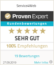 Erfahrungen & Bewertungen zu Service4Web