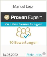 Erfahrungen & Bewertungen zu Manuel Lojo