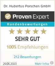 Erfahrungen & Bewertungen zu Dr. Hubertus Porschen GmbH