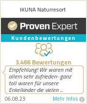 Erfahrungen & Bewertungen zu IKUNA Naturresort