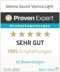 Erfahrungen & Bewertungen zu Vienna Sound Vienna Light