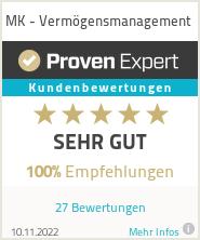 Erfahrungen & Bewertungen zu MK - Vermögensmanagement