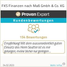 Erfahrungen & Bewertungen zu FKS Finanzen nach Maß Gmbh & Co. KG