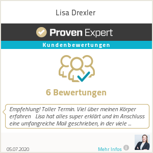 Erfahrungen & Bewertungen zu Lisa Drexler