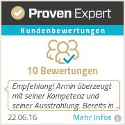 Erfahrungen & Bewertungen zu Armin Bruch