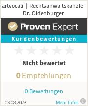 Erfahrungen & Bewertungen zu artvocati | Rechtsanwaltskanzlei Dr. Oldenburger