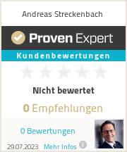 Erfahrungen & Bewertungen zu Andreas Streckenbach