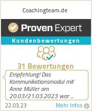 Erfahrungen & Bewertungen zu Coachingteam.de