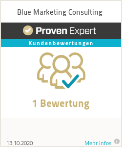 Erfahrungen & Bewertungen zu Blue Marketing Consulting